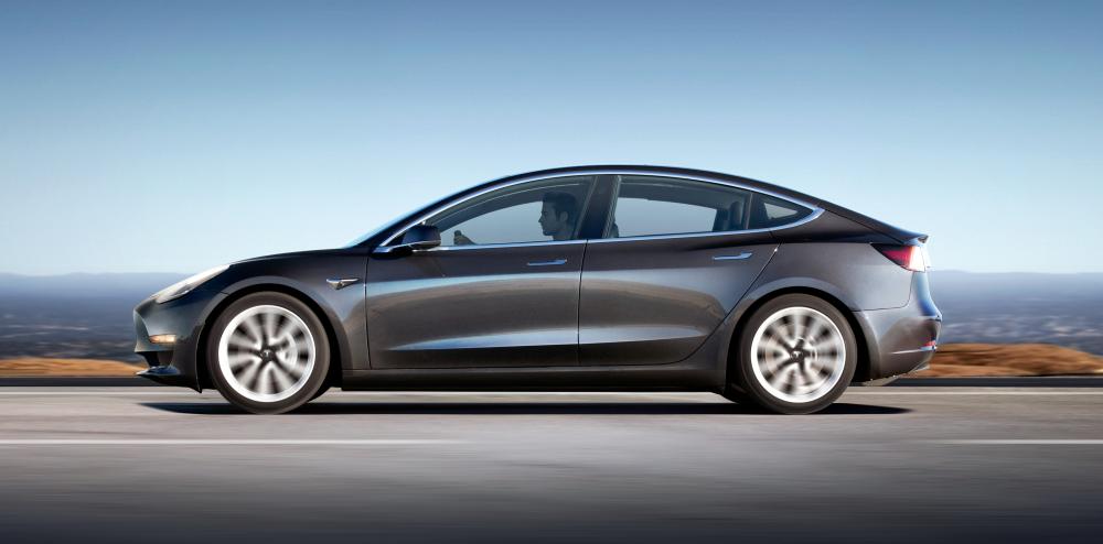 Tesla Model 3 - Lækre standard fælge