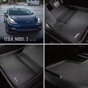 Gulvmåtter all-weather til Model 3