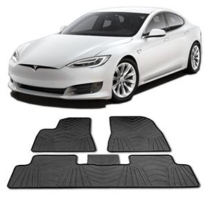 Tesla-Model-S-gulvmåtter