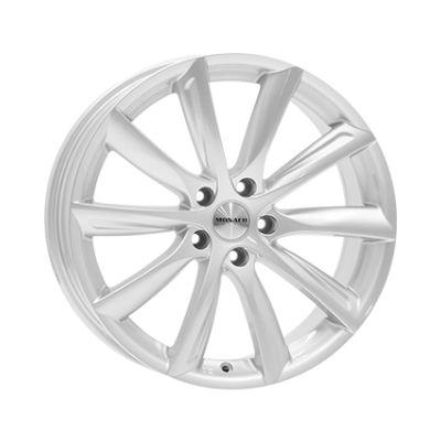 "19"" Monaco Gp6 _silver_ Tesla Model 3"