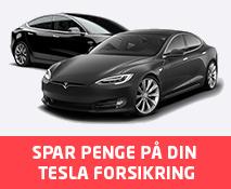 Spar penge på din Tesla bil forsikring